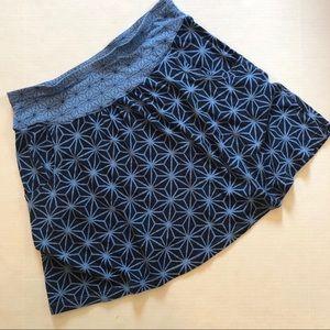 Title Nine printed skirt